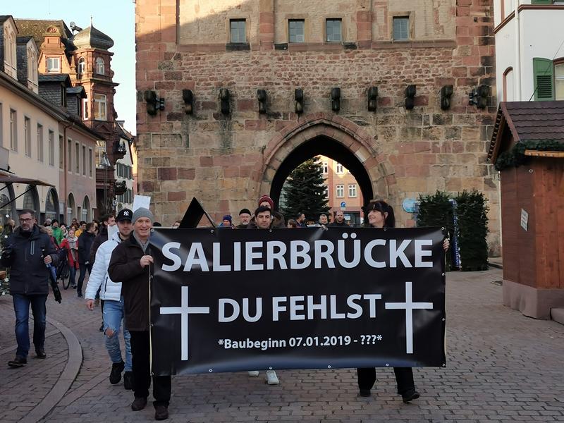 Salierbrücke Speyer Aktuell